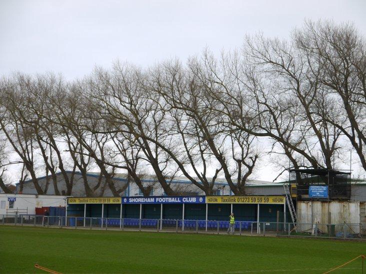 Main stand, Shoreham FC
