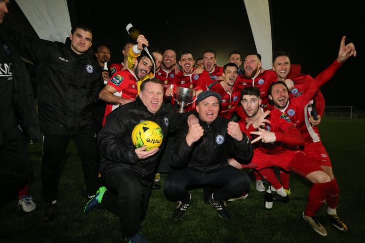 Billericay Town- Velocity Trophy winners 2017-18
