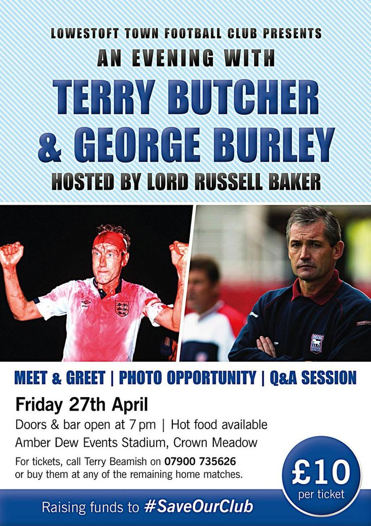 An evening with Butcher and Burley