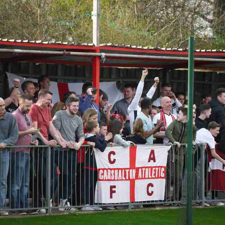 Bostik Supporters Predictions 18/19: Carshalton Athletic