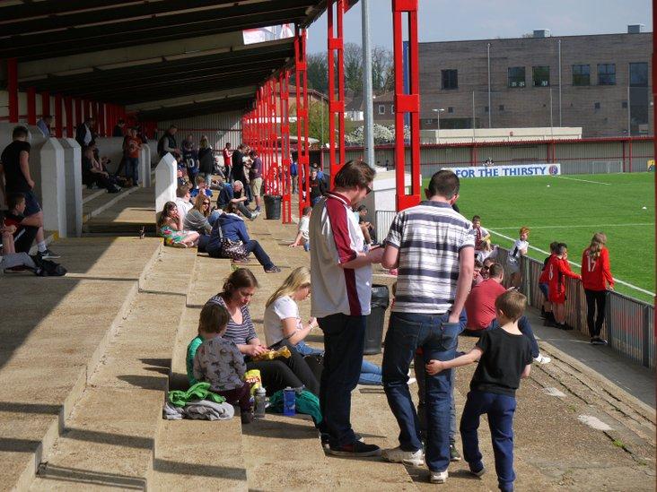 Carshalton Athletic terrace