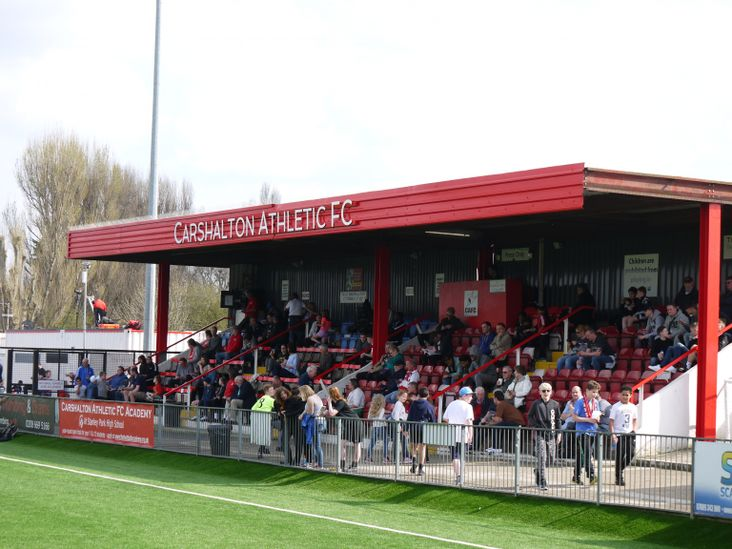 Carshalton Athletic grandstand