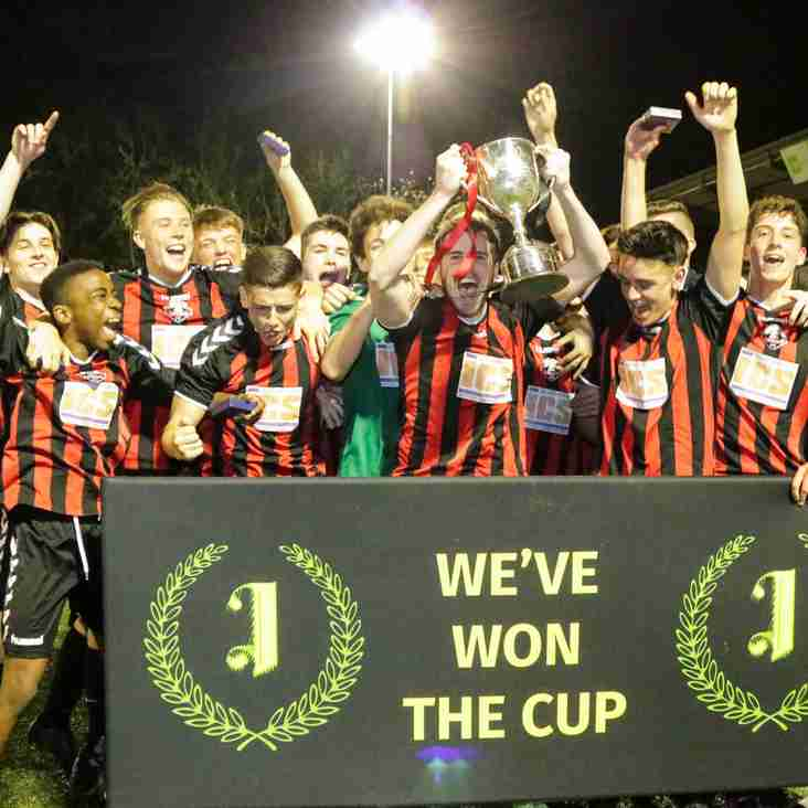 Young Rooks win the Isthmian Youth League Cup!