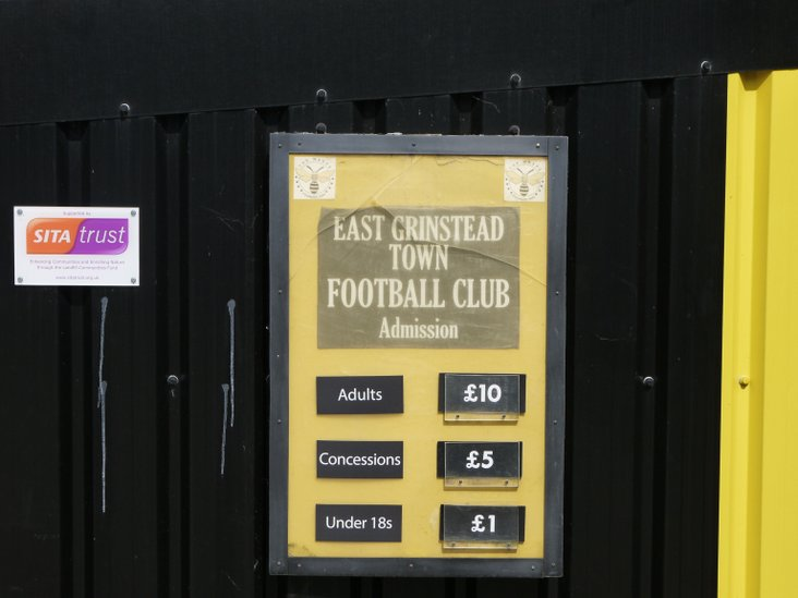 East Grinstead Town- lovely folk and good football at a reasonable price!