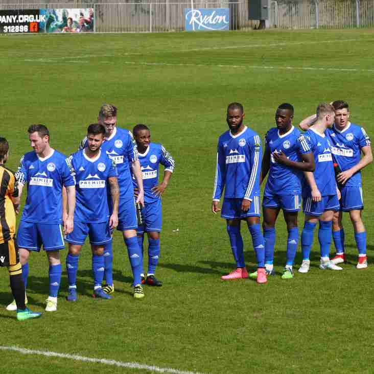Advantage Billericay- but all to play for at the top of the North and South Divisions