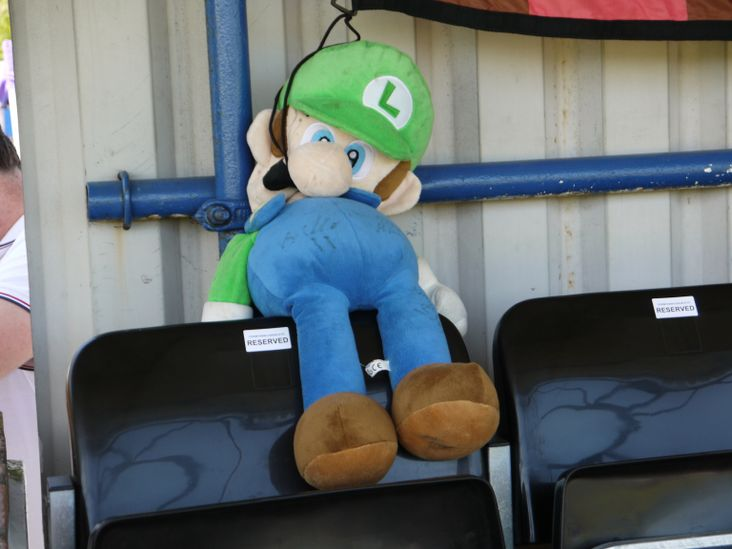 Luigi of Casuals- first appearance at Lewes last season, ever-present since!