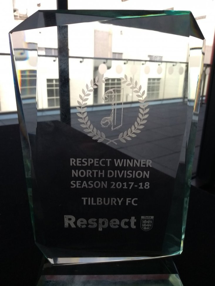 Tilbury Respect Award 17-18