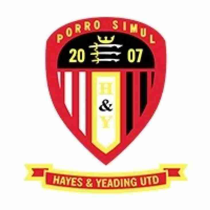 Bostik Supporters Predictions 18/19: Hayes & Yeading United