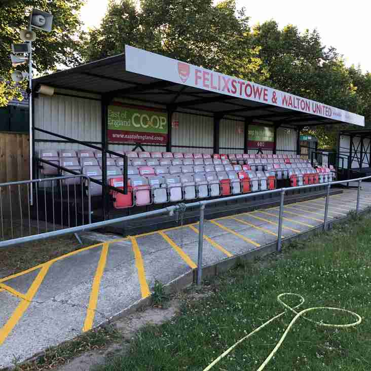 Taking a Bostik bow: Felixstowe & Walton United