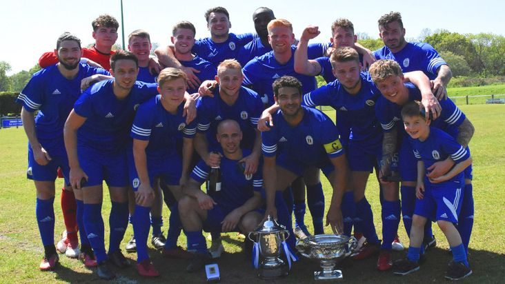 Haywards Heath Town: 2016-17 double winners