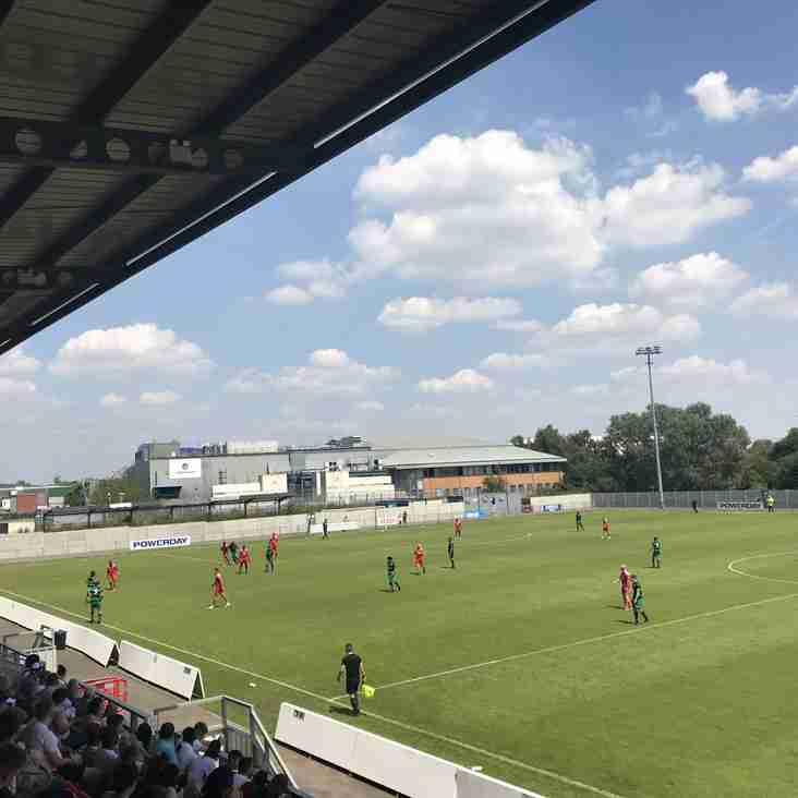 Taking a Bostik bow: Hayes & Yeading United
