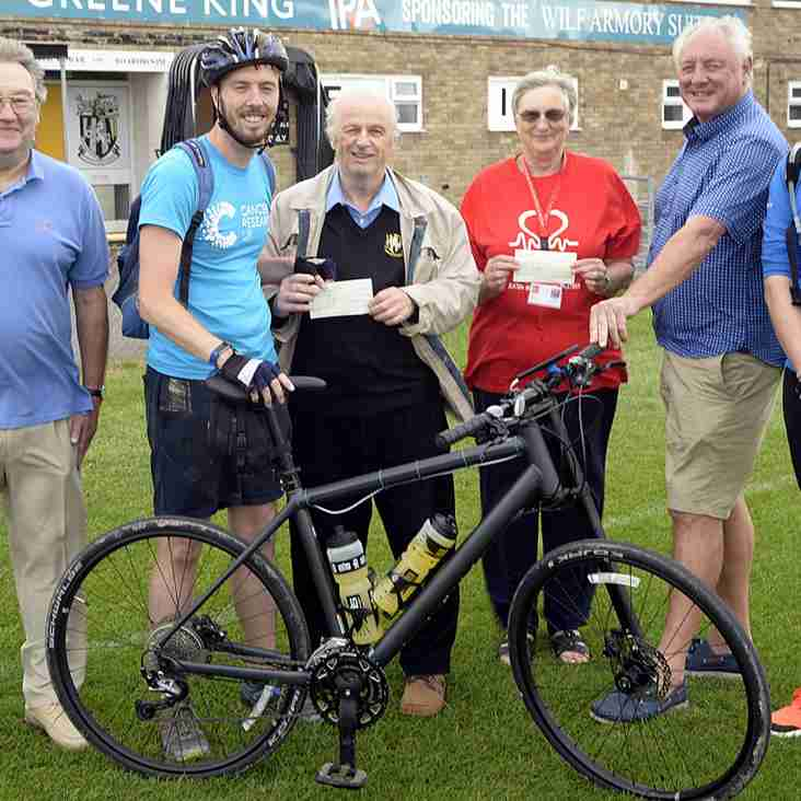 Invicta open their doors to charity cyclists