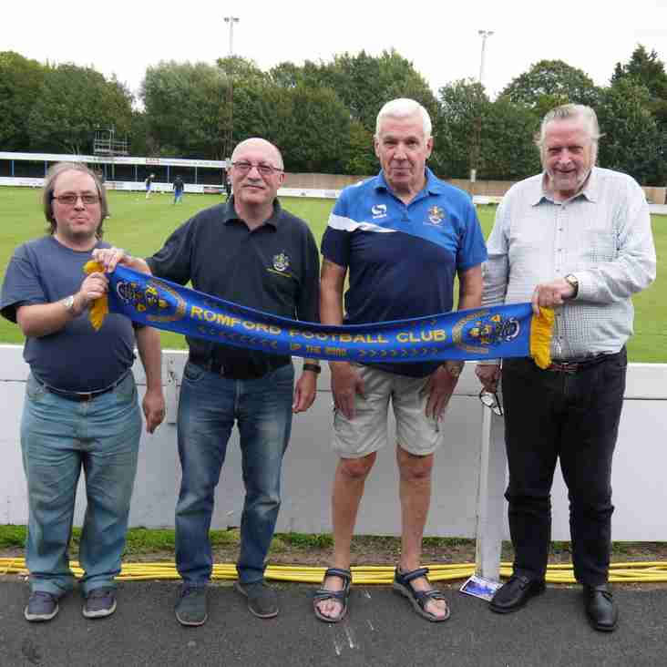 Romford take the first steps on the road to home