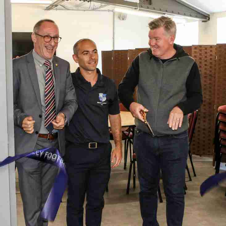 Wingate and Finchley celebrate stadium refurb