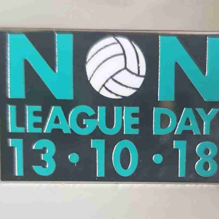 Non League Day- North, South Central and South East activities