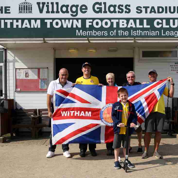 Witham Town walkers wander for wonga!