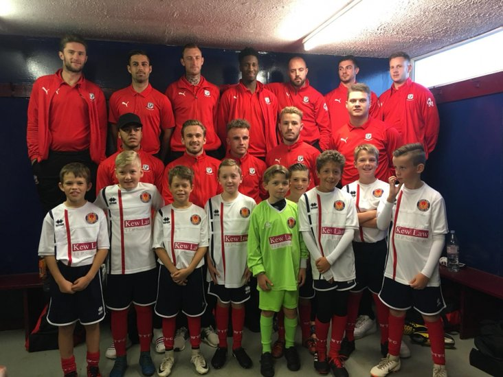 Witham Under 10's with Coggeshall Town
