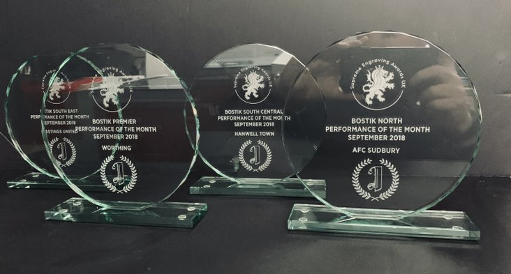 Supreme Engraving Awards UK Performance of the Month, September 2018