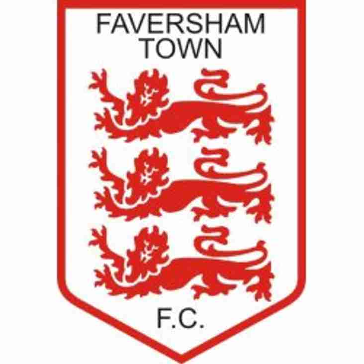 Faversham appoint a new manager