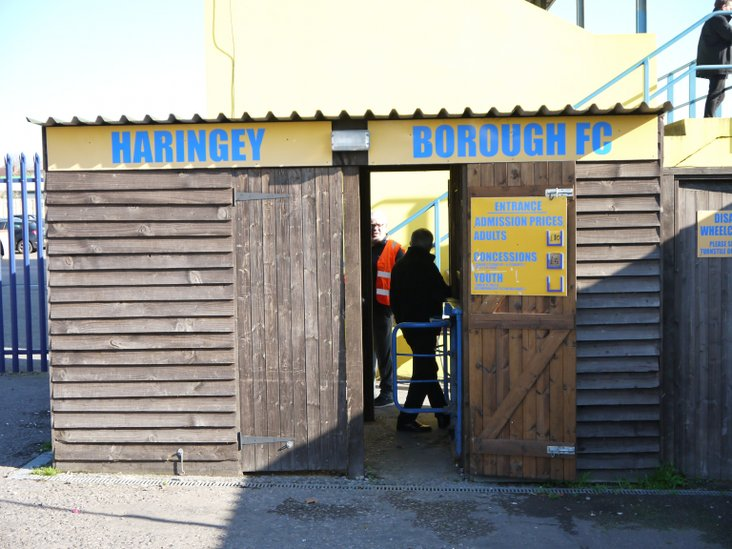 Haringey Borough turnstile