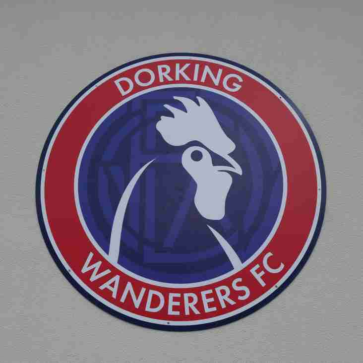 Dorking sign Golden Boot winner
