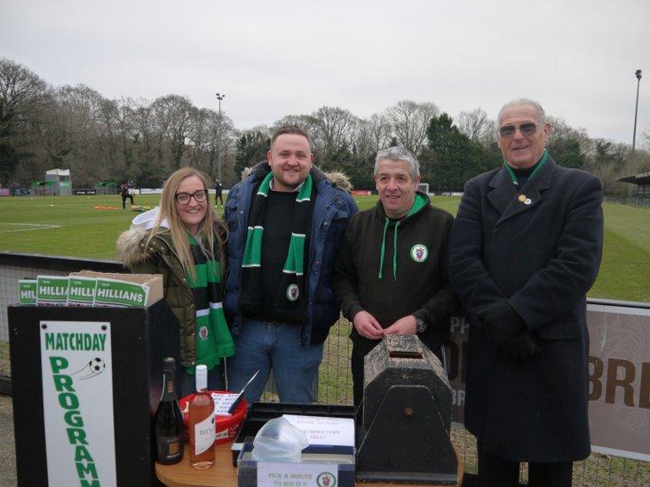 A quartet of Hillian volunteers