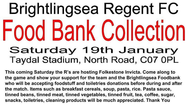 Brightlingsea Foodbank appeal