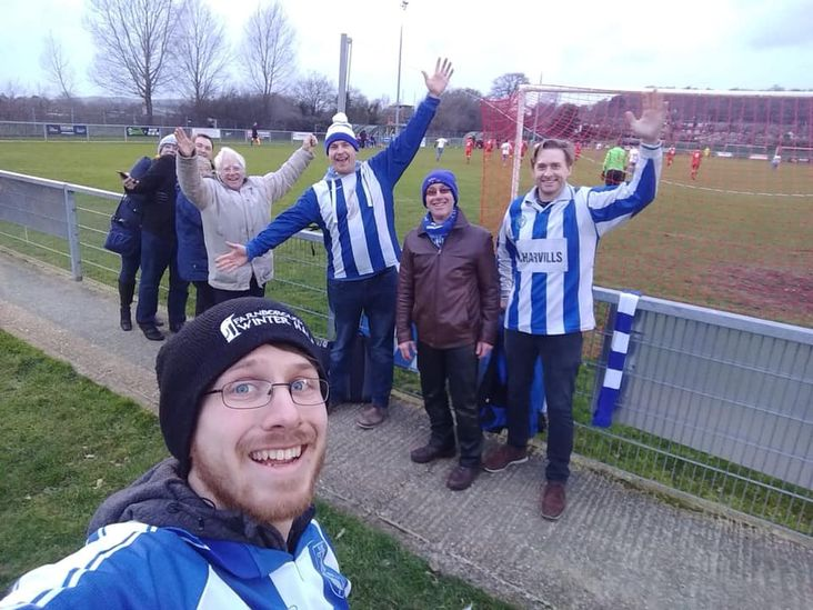 Ware fans celebrate victory