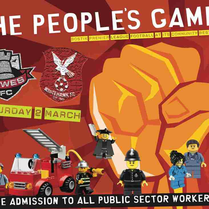 Rooks announce 'The People's Game'