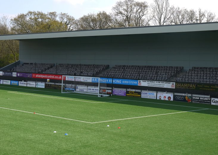 Bromley's new stand