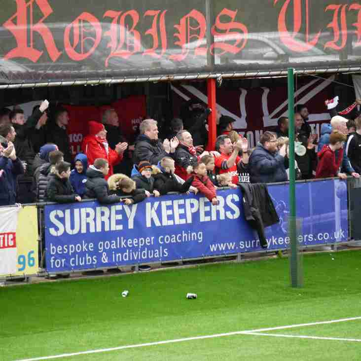Bostik Matchday: Robins fly high!
