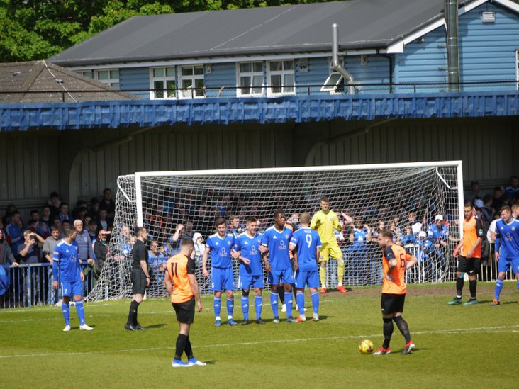 Turner stands over a free kick