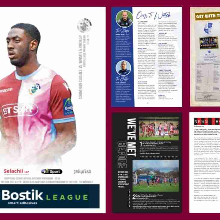 Woods, Casuals and United given plaudits in programme awards