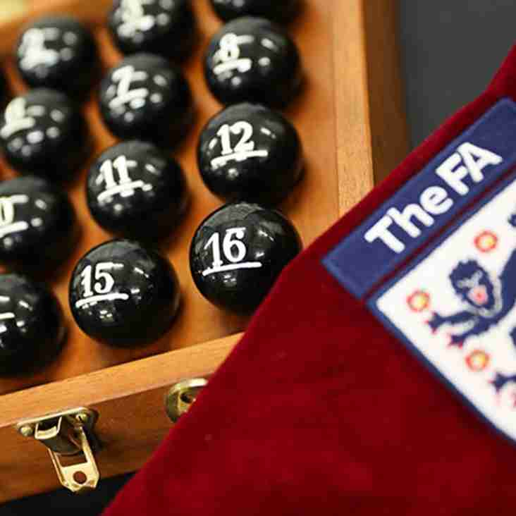 FA Cup Second Round- who did City, K's and the Jammers get?