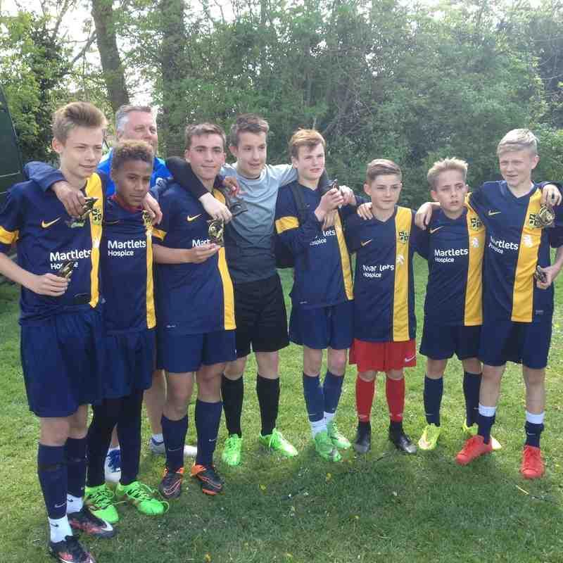 Henfield tournament 2016 - Runners up