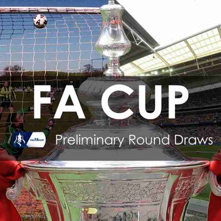 FA Competition draws