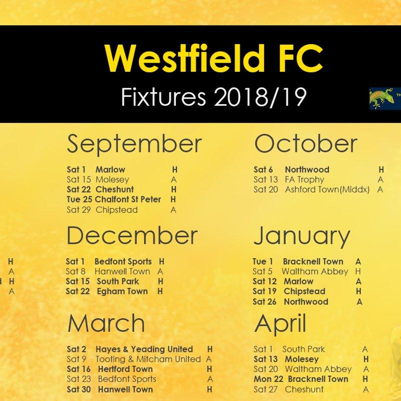 2018/19 Bostik Fixtures Announced
