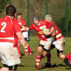 1st XV win on the road to top the table