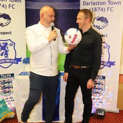 Last night Darlaston celebrated a record breaking season at their Paycare Ground