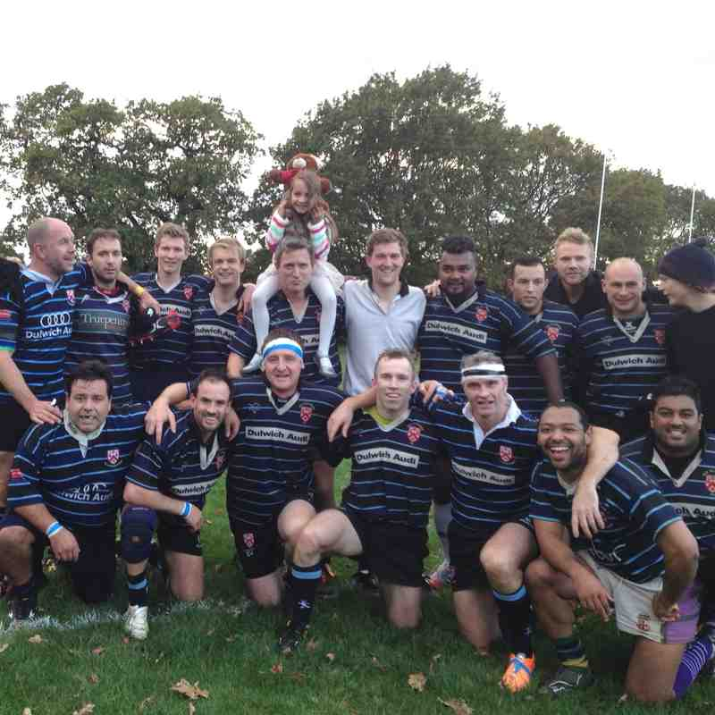 Great victory for the 4ths on 25/10/14