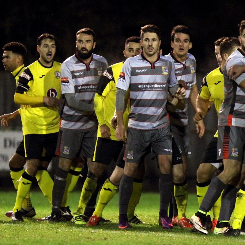 North Leigh v Kingstonian Match Report