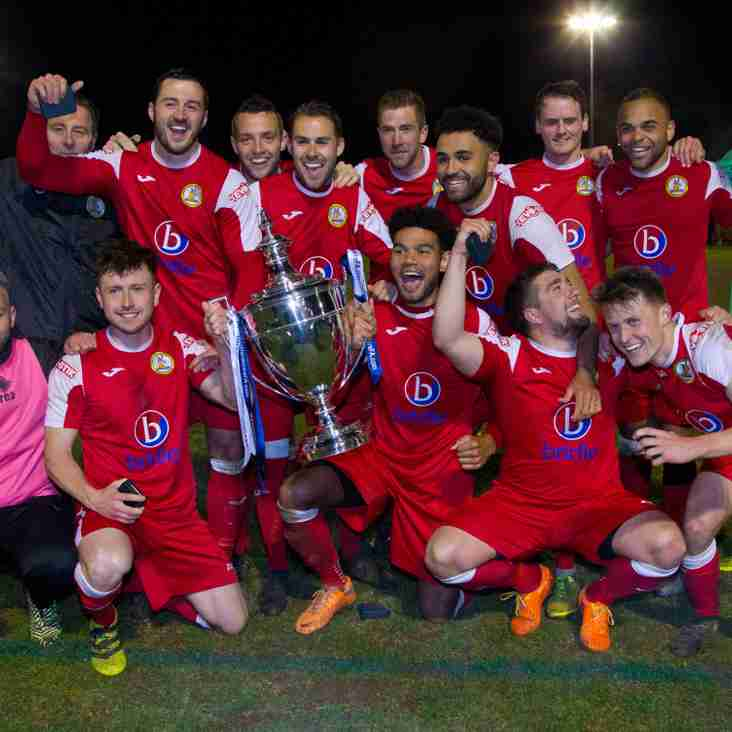 North Leigh Triumph in the Oxfordshire Senior Cup Final