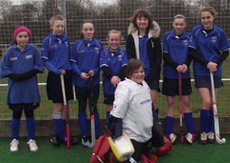 U12 Girls at Yorkshire Minis 26 Feb 2012