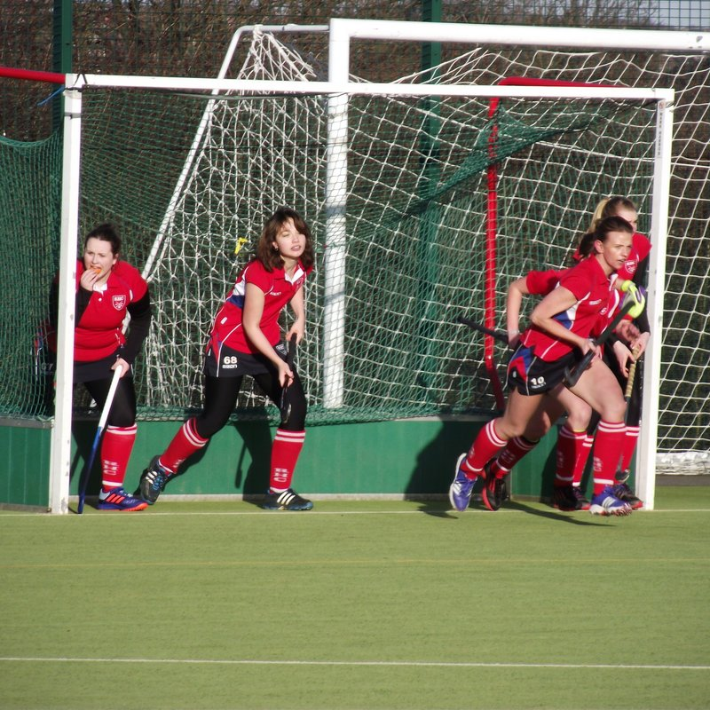 Ladies 2nds go Top of the League