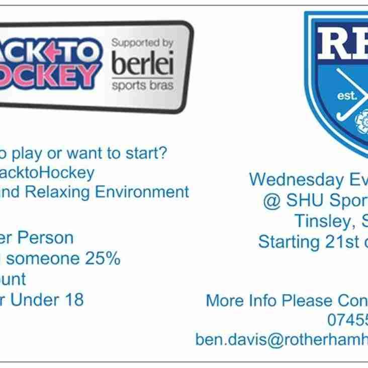 Back to Hockey ...
