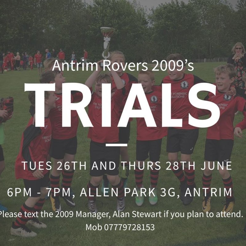 Antrim Rovers 2009 Open Trails