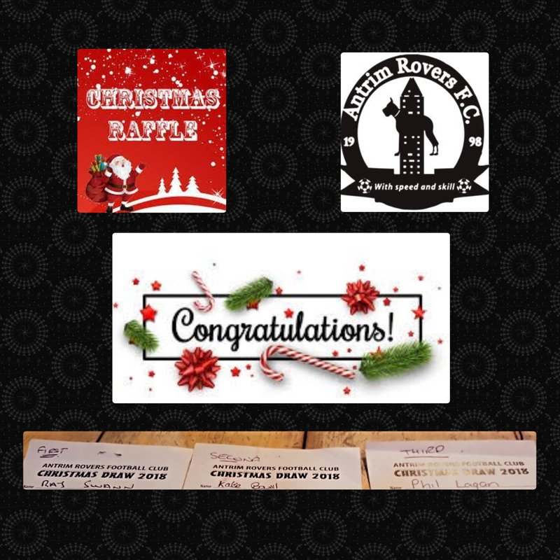 Winners of Christmas Draw 2018 Announced