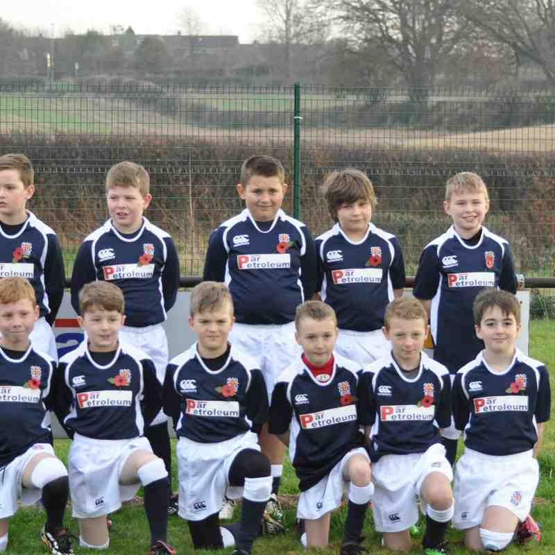 Ryton U10's team 2014-15