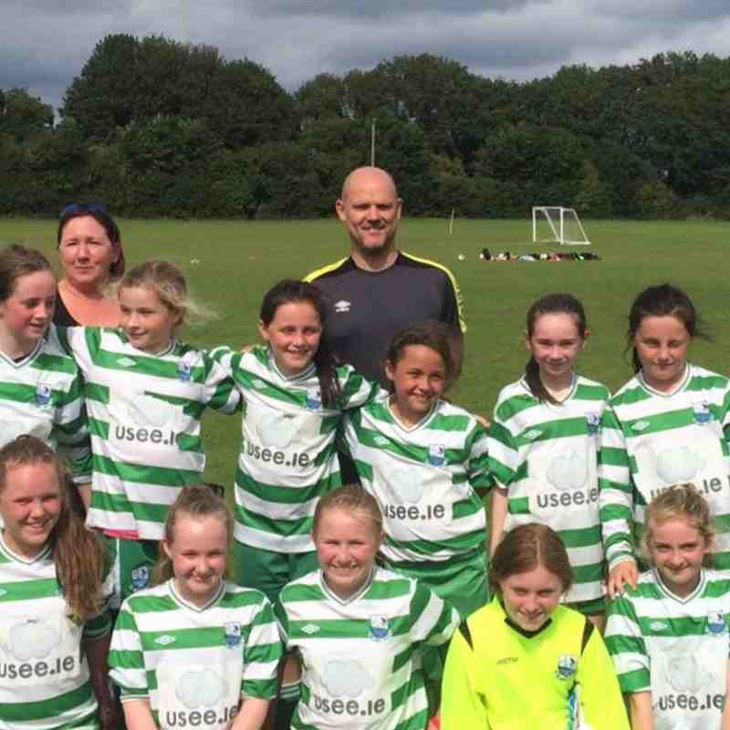 Girls u12 Stamullen Friendship Cup Winners 2017