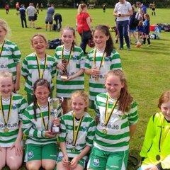 Girls u12 Stamullen Friendship Cup Winners 2017